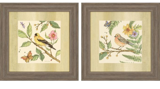 Foxmoor II Brown Set of 2 Artwork - Casual