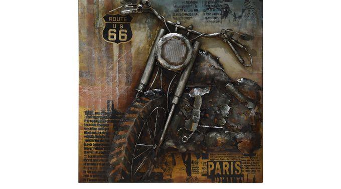 One More Ride Wall Decor - Rustic