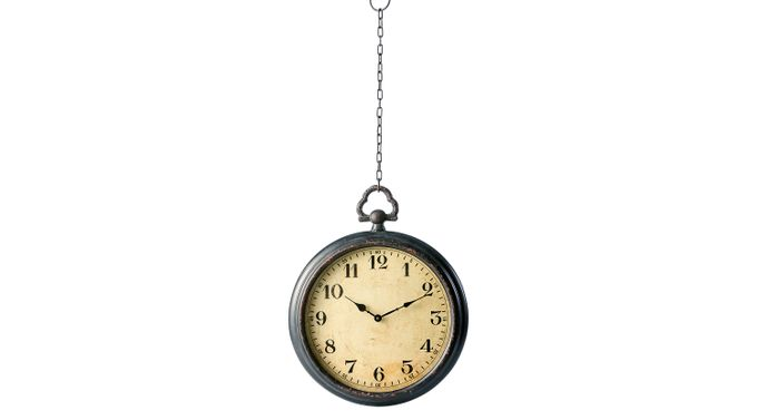 Thoma Brown Clock - Transitional