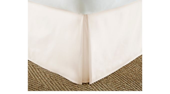 Belden Landing II Ivory (off-white)  Queen Bed Skirt