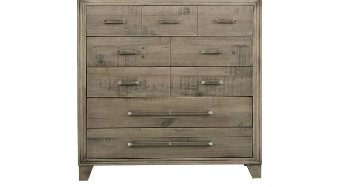 Crestwood Creek Gray Bureau - Contemporary
