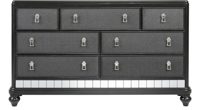 Paris Black Dresser - Contemporary