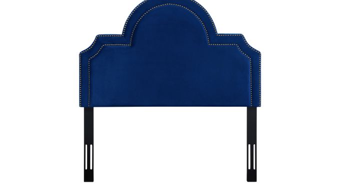 Louella Cobalt Full Upholstered Headboard