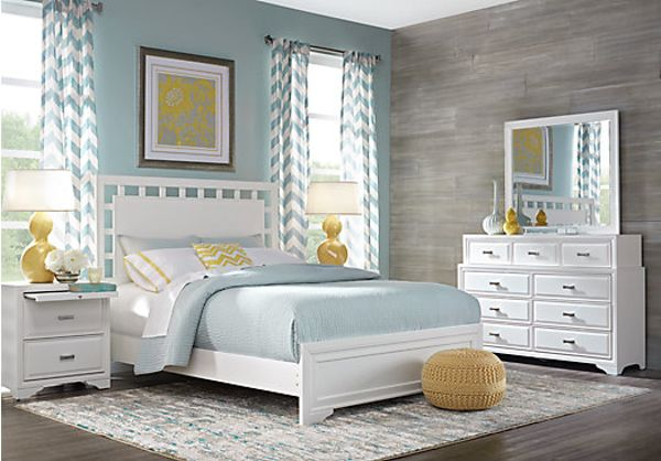 full size bedroom sets white. belcourt white 7 pc king lattice bedroom full size sets f
