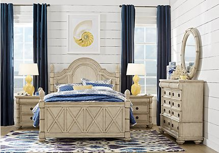 Key West Coastal Bedroom Furniture Collection