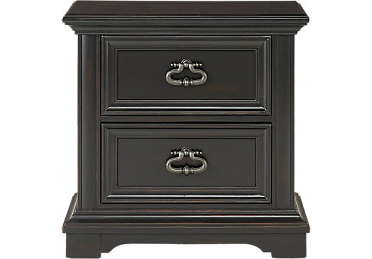 Eric Church Highway To Home Arrow Ridge Ebony Nightstand