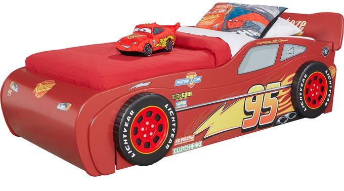 Disney/Pixar Cars Lightning McQueen™ Red 5 Pc Twin Bed w/Trundle
