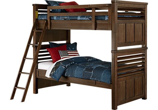 Boulder Chocolate Twin/Twin Bunk Bed