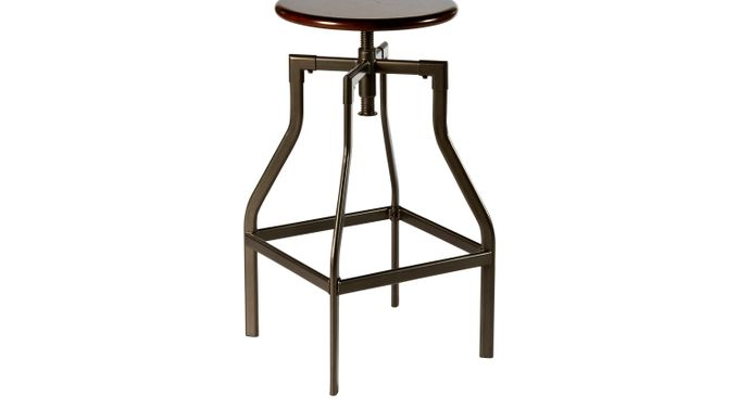 Cyprus Barstool - Bar Height - Transitional