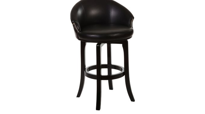 Dartford Cherry Barstool - Upholstered - Traditional
