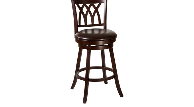 Tateswood Cherry Barstool - Bar Height - Transitional