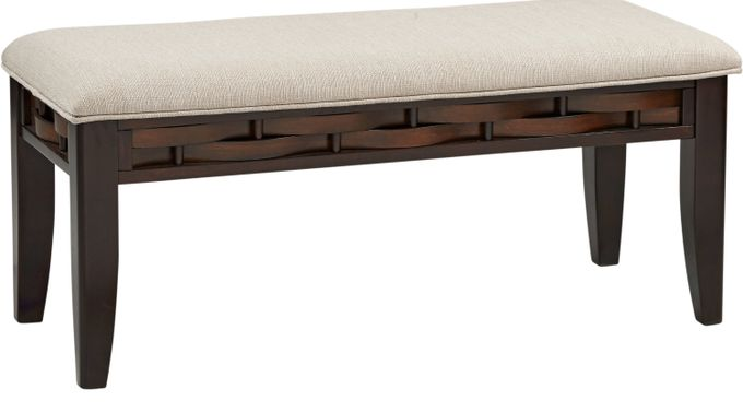 Bedford Heights Cherry Bench - Transitional