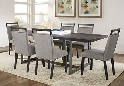 Amsterdam Avenue Black 5 Pc Rectangle Dining Room