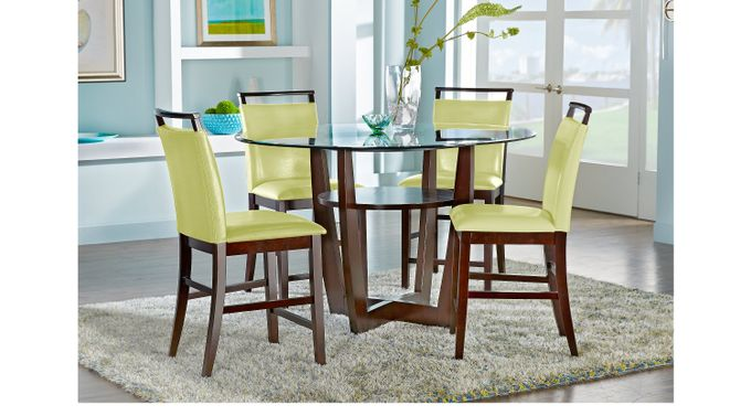 Dining Room Sets Rooms To Go Ciara Espresso 5 Pc 54