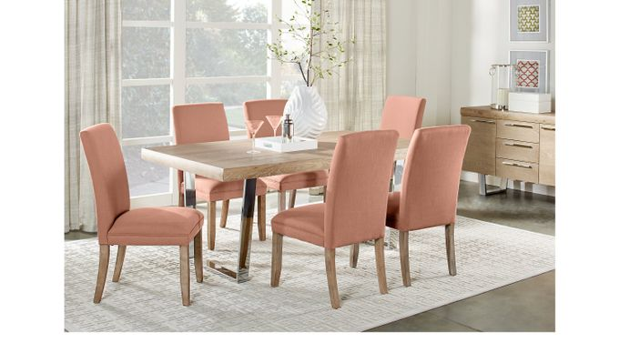 San Francisco Ash (gray)  5 Pc Dining Room - Rectangle - Contemporary