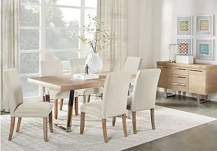 Cindy Crawford Home San Francisco Ash 5 Pc Dining Room