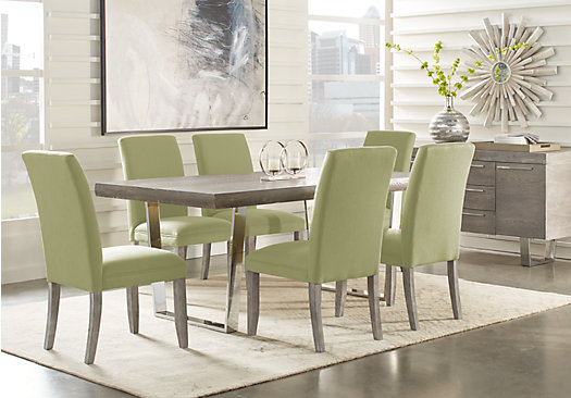 San Francisco Gray 5 Pc Dining Room - Rectangle - Contemporary