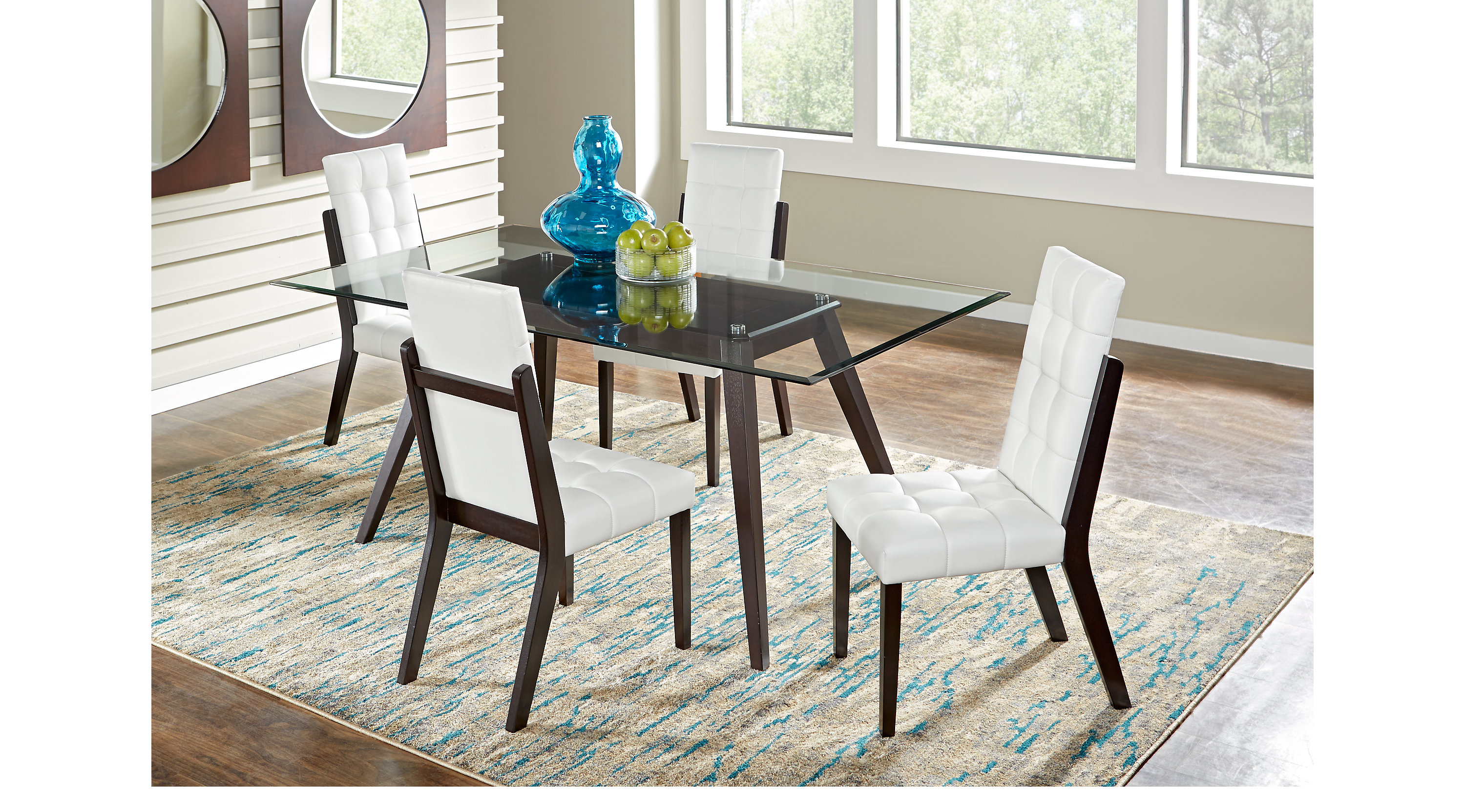 Colonia Hills Cappuccino 7 Pc Dining Set