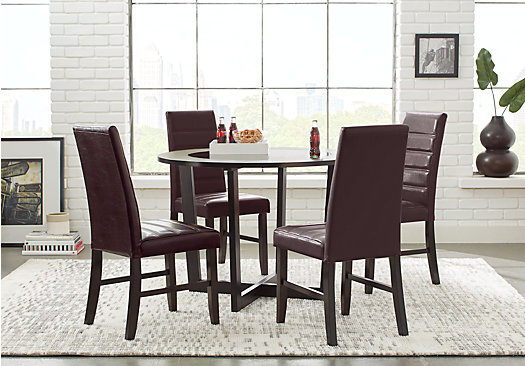 Mabry Espresso 5 Pc Dining Set