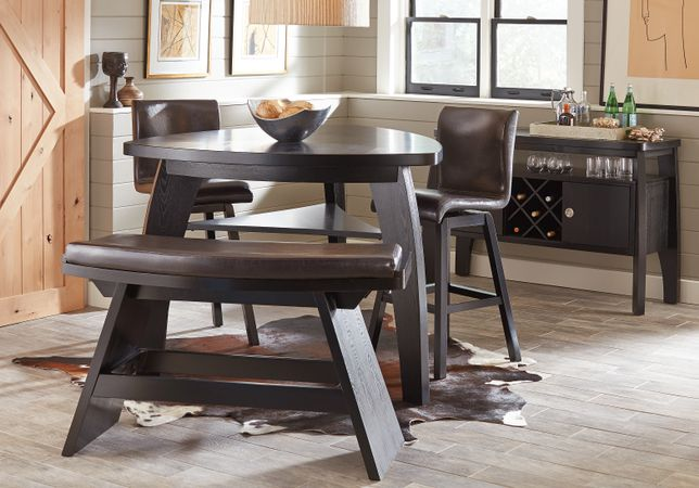 Noah Chocolate (brown)  7 Pc Bar Height Dining Room - Casual