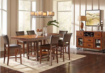 Height Of Dining Room Table standard dining room table size standard dining room table size dining table dimension standard best images Red Hook Pecan 5 Pc Counter Height Dining Room
