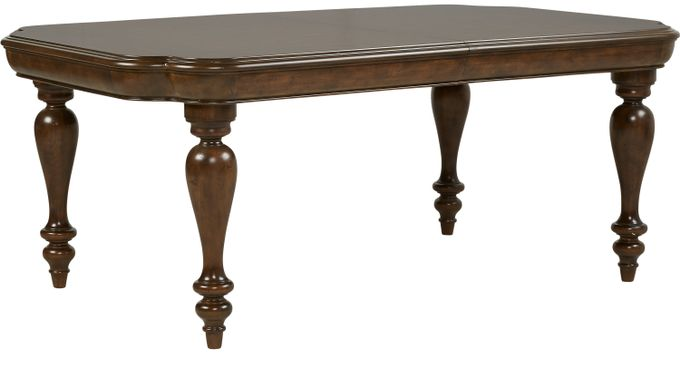 Notting Hill Cherry Rectangle Dining Table - Traditional