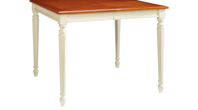 Ocean (blue)  Grove White Counter Height Table - Traditional