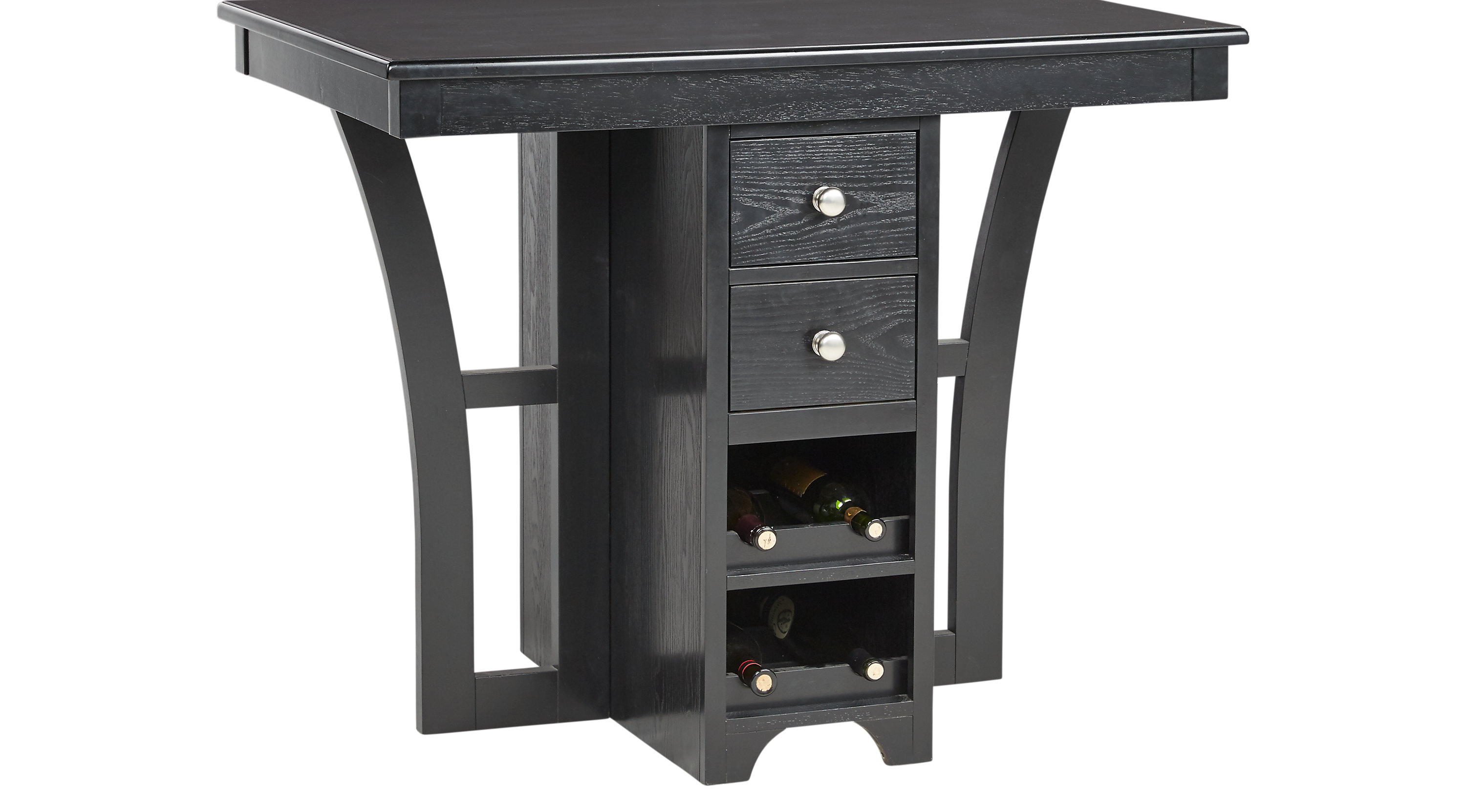 Dining Tables Rooms To Go Ellwood Black Bar Height Table 4310900p
