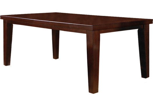 Lake Tahoe Brown Rectangle Dining Table