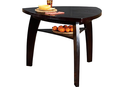 Noah Chocolate Brown Bar Height Dining Table