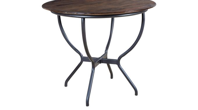 Sose Brown Dining Table - Round - Rustic