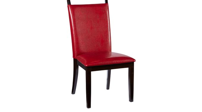 Ciara Red Side Chair - Upholstered - Contemporary