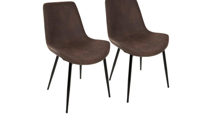 Doverwood Espresso (dark brown)  Dining Chair (Set of 2) - Contemporary