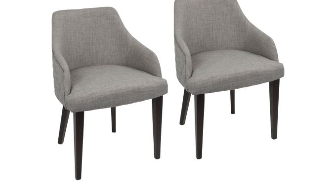 Fenley Gray Dining Chair (Set of 2) - Contemporary
