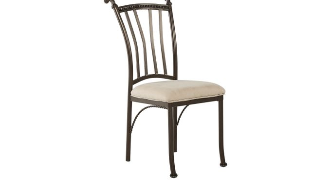 Hoyt Metal Side Chair - Transitional