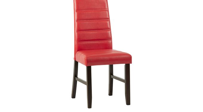 Mabry Red Side Chair - Upholstered - Contemporary