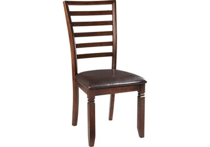 Riverdale Cherry Ladder Back Side Chair