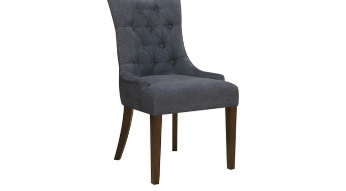 Shari Blue Dining Chair - Upholstered - Transitional