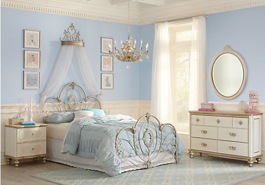 Disney furniture collections for Disney princess bedroom furniture