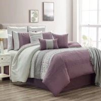 Picture of a purple bedding set