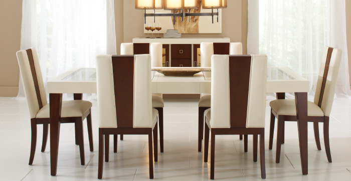 Picture of the Sofia Vergara dining room set