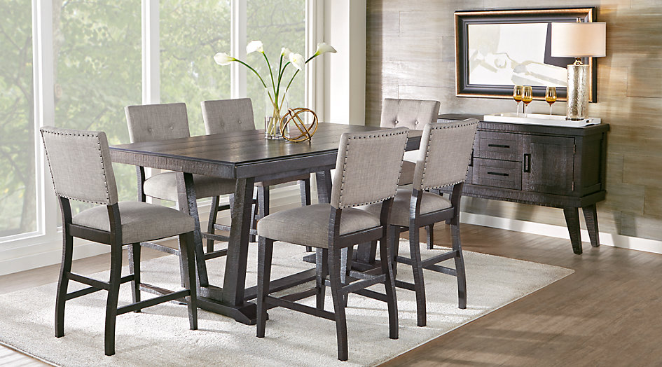 Black White Amp Gray Dining Room Furniture Ideas Amp Decor