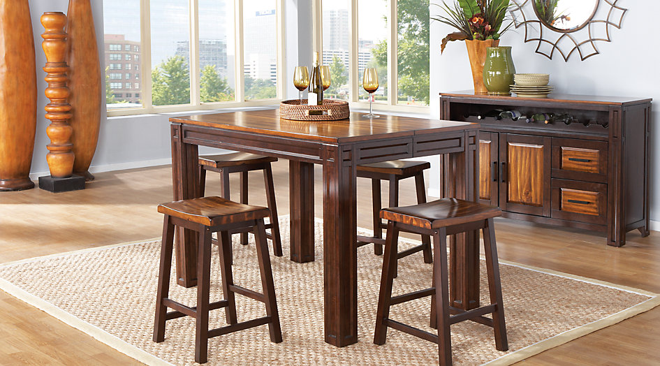 picture of the Adelson dining room set
