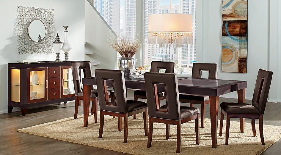 picture of the Sofia Vergara Savona dining room set
