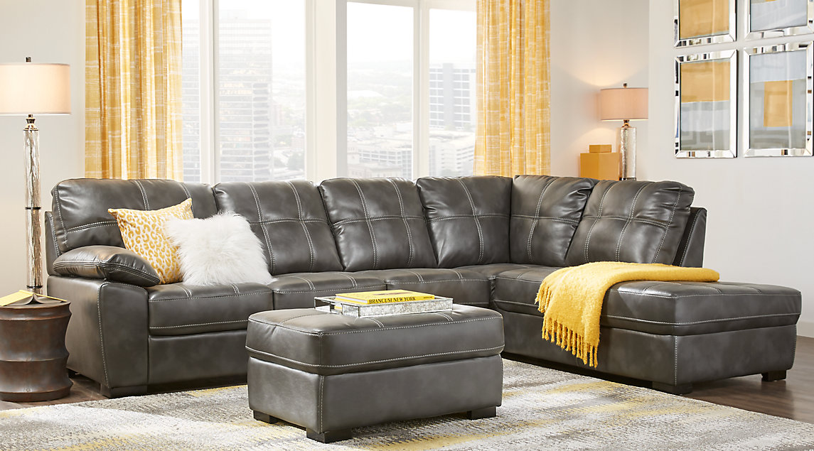 Gray White Amp Gold Living Room Furniture Amp Decorating Ideas