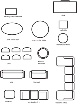 classroom furniture worksheet