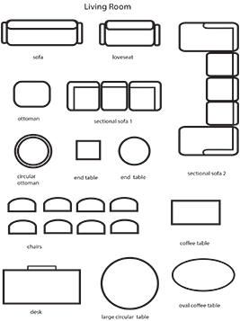 living room worksheet