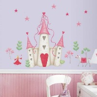 Picture of a castle wall decal