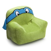 Picture of a soft Ninja Turtle kids chair.