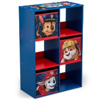 Picture of a Paw Patrol 6-cubby storage organizer.
